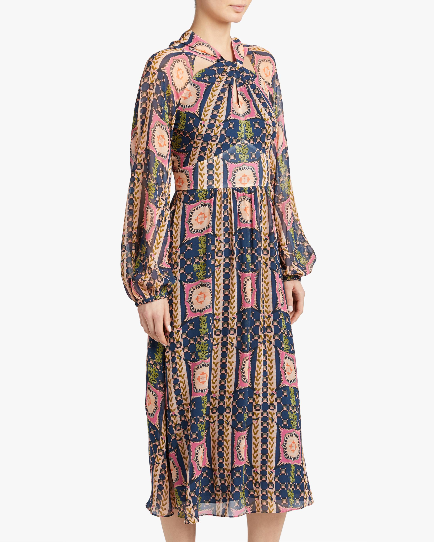 Temperley London Etoile Twist Midi Dress 2