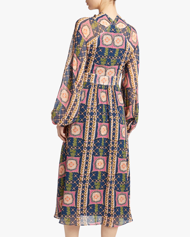 Temperley London Etoile Twist Midi Dress 3