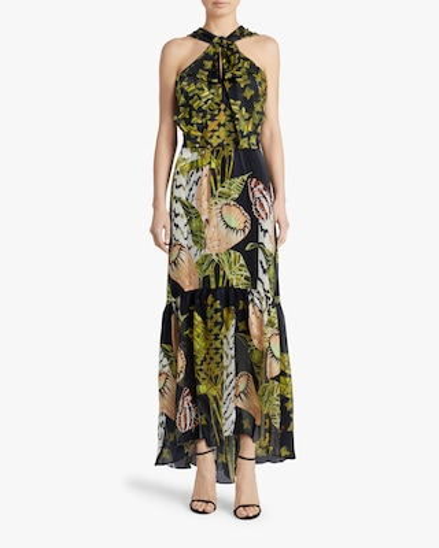 Temperley London Harmony Tie-Waist Dress 2