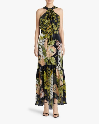 Temperley London Harmony Tie-Waist Dress 2