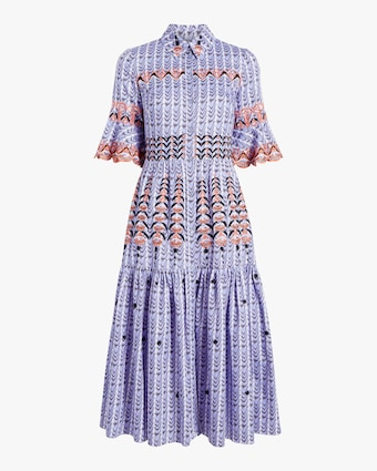 Temperley London Poet Midi Dress 1