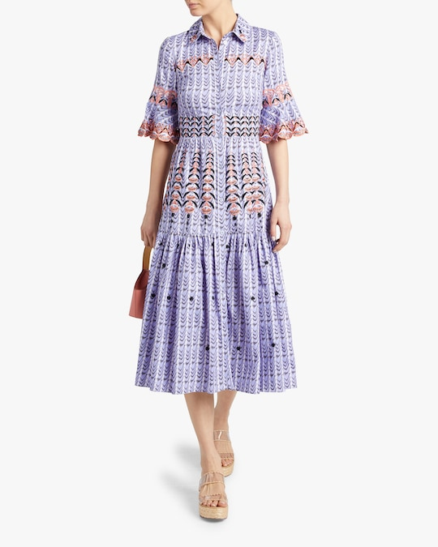 Temperley London Poet Midi Dress 1