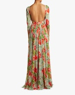 Badgley Mischka V-Neck Gown 2