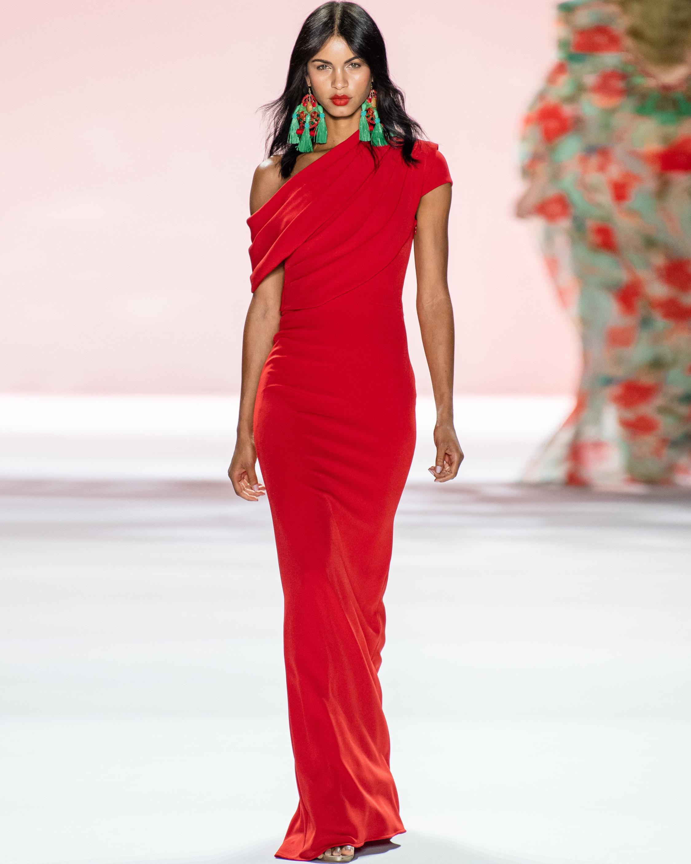 Badgley Mischka Asymmetrical Drape Gown 4