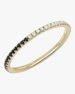 EF Collection Two-Tone Diamond Eternity Band 0