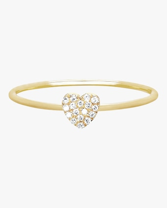 EF Collection Mini Heart Stack Ring 2