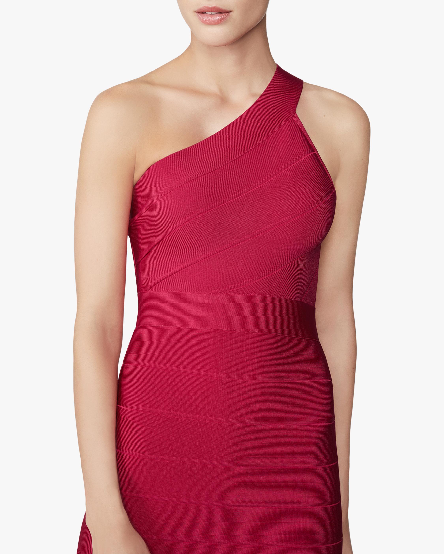Herve Leger New Icon Asymmetrical One Shoulder Dress 3