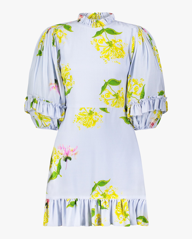 Cynthia Rowley Tayla Ruffle Shift Dress 1