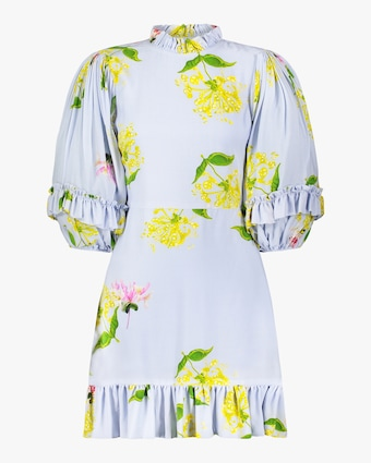 Cynthia Rowley Tayla Ruffle Shift Dress 1