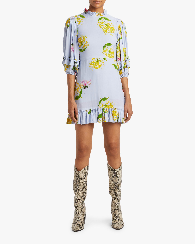 Cynthia Rowley Tayla Ruffle Shift Dress 2