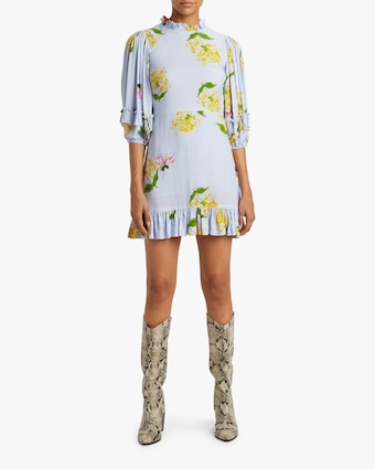 Cynthia Rowley Tayla Ruffle Shift Dress 2