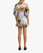 Cynthia Rowley Catalina Ruffle Shift Dress 2