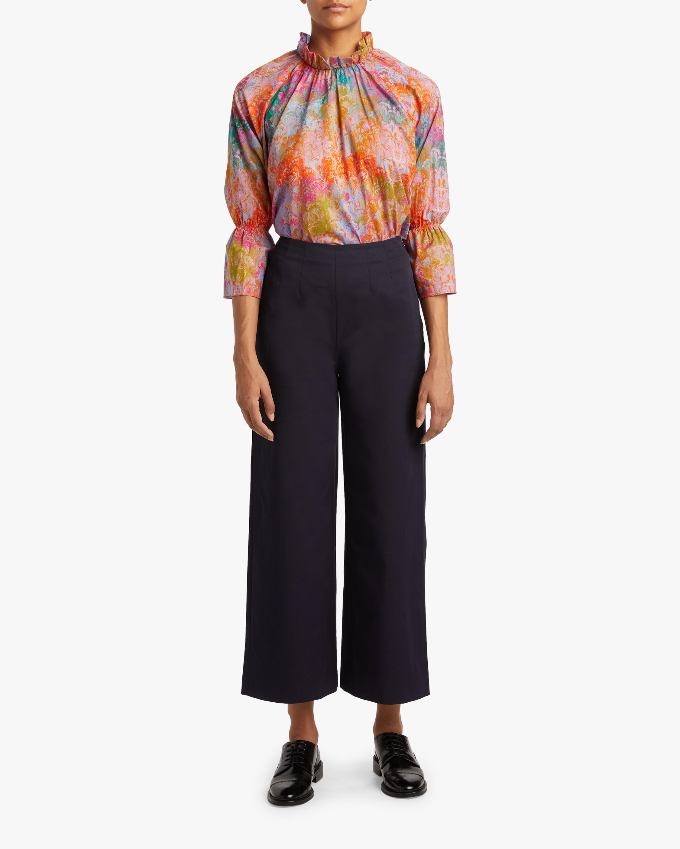 Cynthia Rowley Eden Bell-Sleeve Blouse 2
