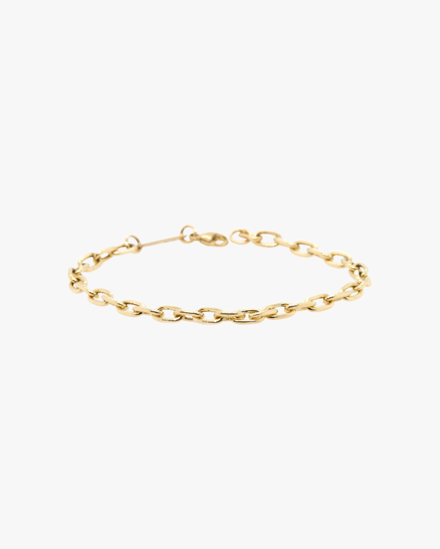 Oval Link Chain Bracelet