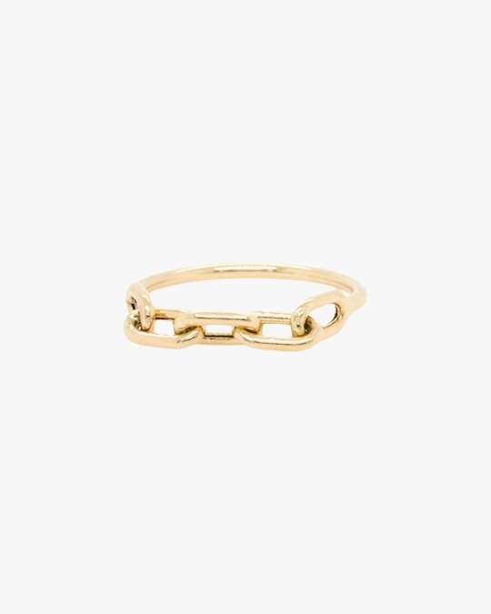 Zoë Chicco Oval Link Ring 0