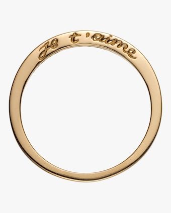 Je t'aime Ring