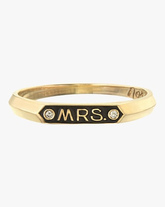 Mrs. Signet Ring