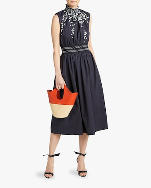 Belted Twill Shirt Dress