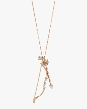 Shoot for Love Pendant Necklace