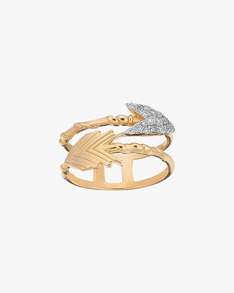 Arrow Feather Ring