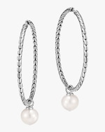 John Hardy Classic Chain Hoop Earrings 0