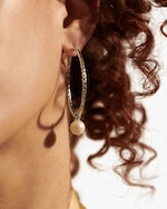 John Hardy Classic Chain Hoop Earrings 1