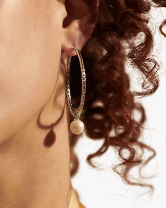 Classic Chain Hoop Earrings