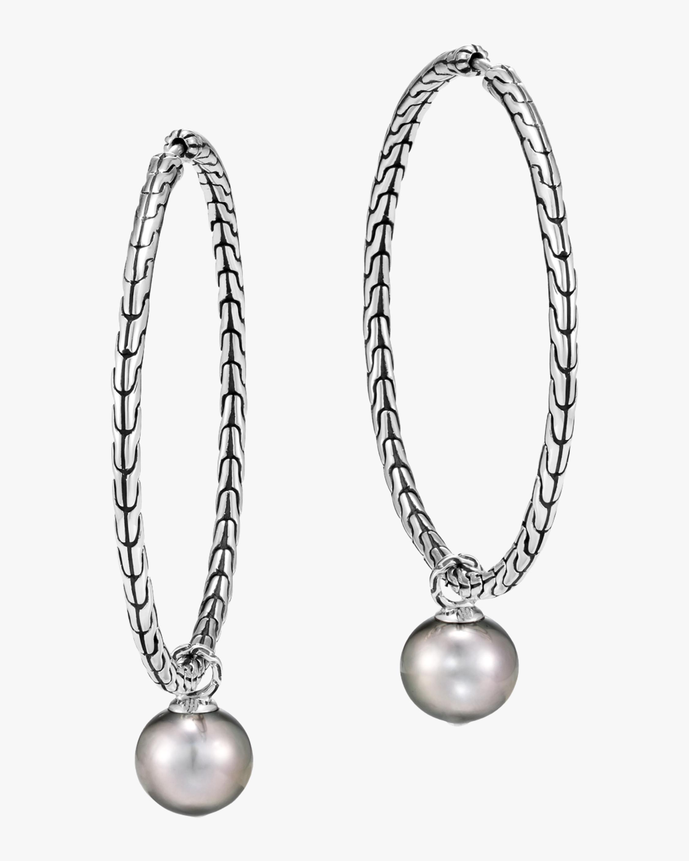 John Hardy Classic Chain Hoop Earrings 0