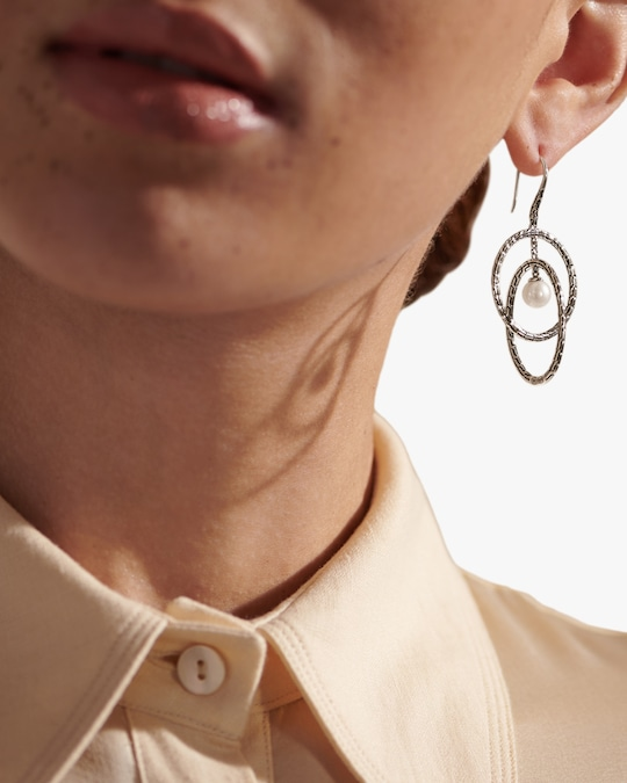 John Hardy Classic Chain Drop Earrings 1