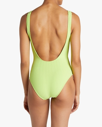 The Anne-Marie Button One-Piece Swimsuit