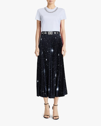 Christopher Kane Star Pleated Skirt 2