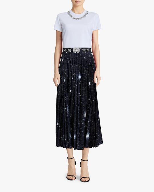 Christopher Kane Star Pleated Skirt 1