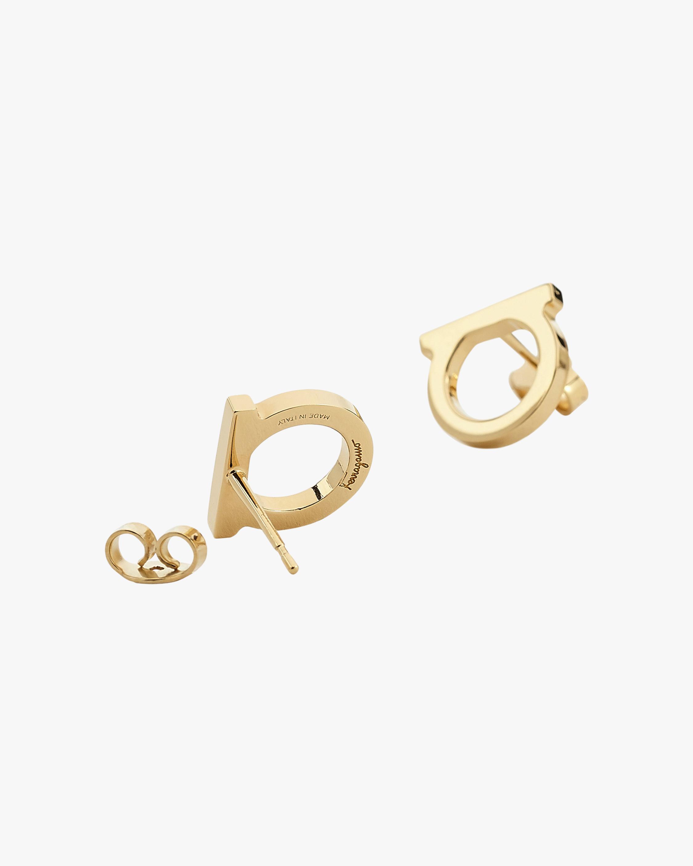 Gancini Stud Earrings