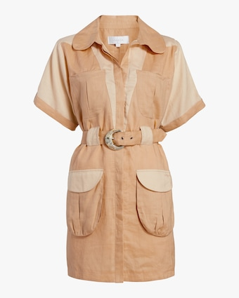 Dusty Shirt Dress