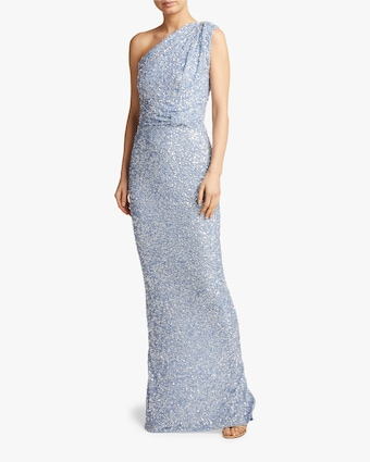 Rachel Gilbert Reed One-Shoulder Gown 2