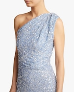 Rachel Gilbert Reed One-Shoulder Gown 3