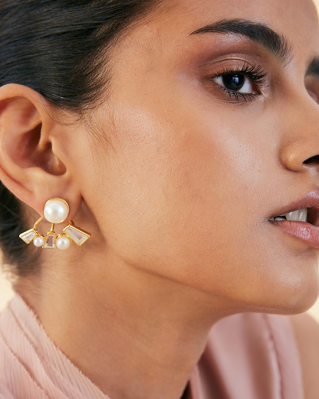 Isharya Angel Dust Stud Earrings 1