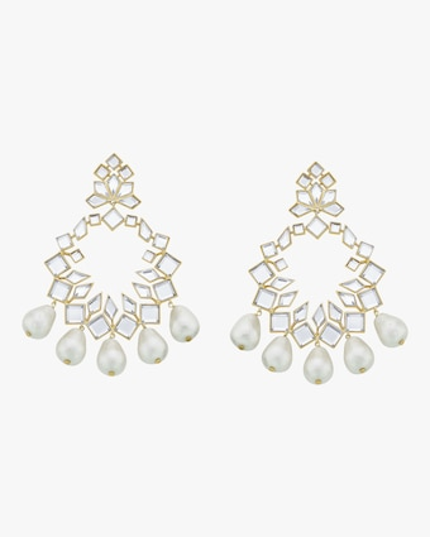 Mandala Chandelier Earrings