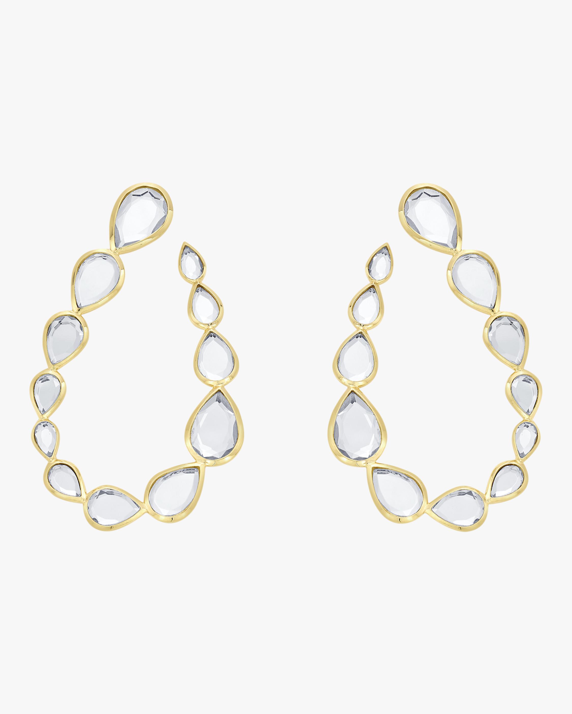 Mirrors-on-the-Move Teardrop Earrings