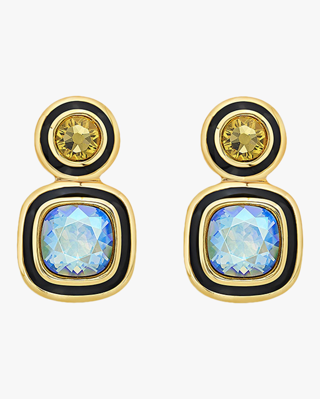 Isharya Glitter-on-the-Go Duo Stone Libra Earrings 0