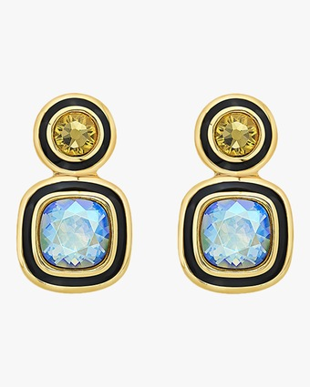 Glitter-on-the-Go Duo Stone Libra Earrings