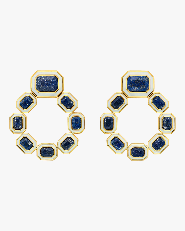 Chakra Grecian Drop Earrings