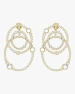 Isharya Modern Maharani Athena Multi-Layered Earrings 0