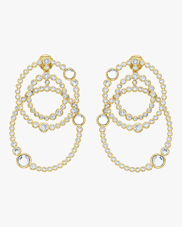 Modern Maharani Athena Multi-Layered Earrings
