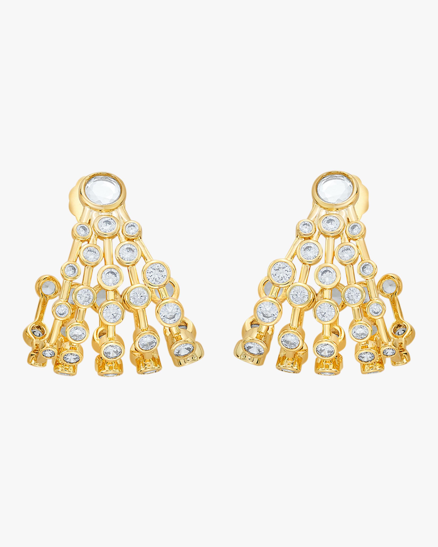 Modern Maharani Curved Earrings
