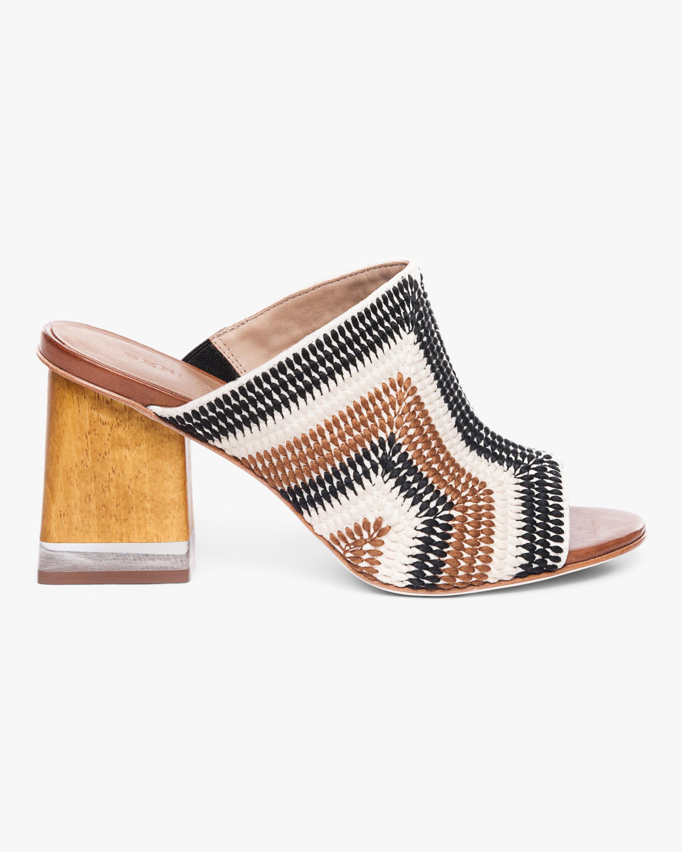 Nala Embroidered Heel