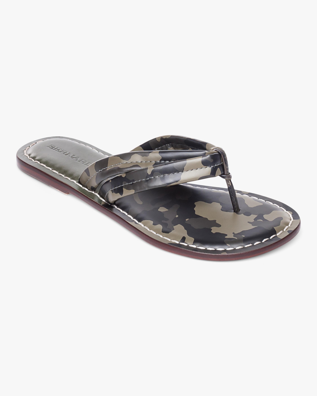 Miami Camo Thong Sandal