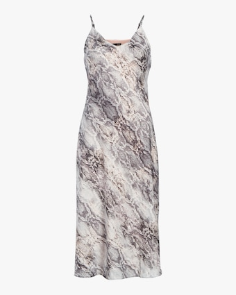 Cami Bias Midi Slip Dress