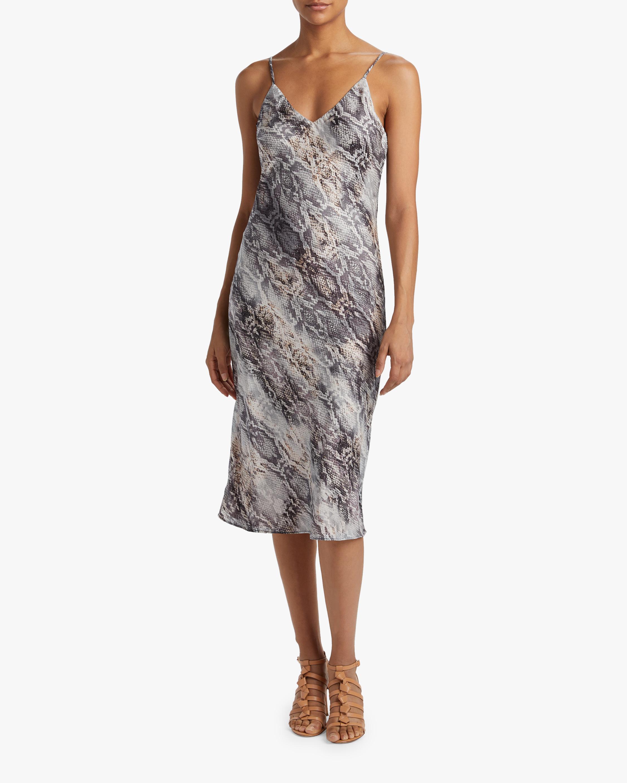 Krisa Cami Bias Midi Slip Dress 2