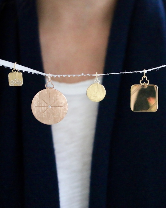 Devon Woodhill On an Angle Locket Necklace 1
